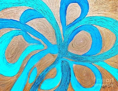 Painting - Divine Inspiration by Rachel Hannah