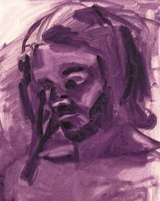 Painting - Corpus by Liz Adkinson