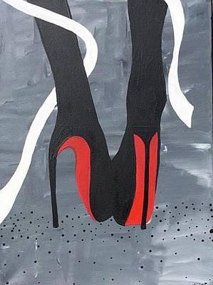 Stillettos Painting - Divine  by Kris  Ponto