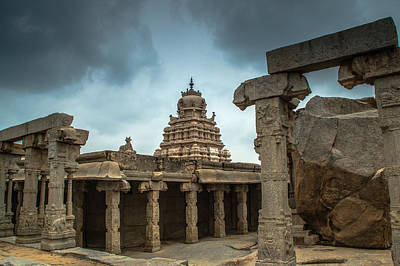 Photograph - Divine Lepakshi - Temple Architecture by Ramabhadran Thirupattur