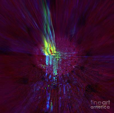 Divine Light - No External Pressure Art Print