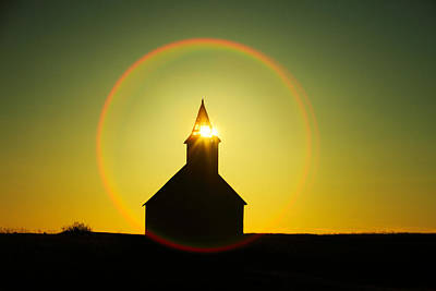 Western Ghost Town Photograph - Divine Light by Todd Klassy