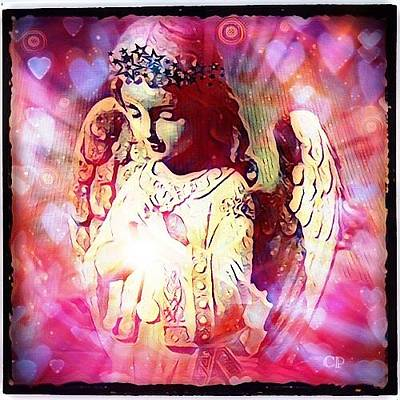 Digital Art - Divine Love by Christine Paris