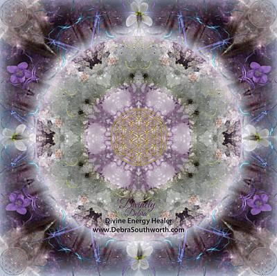 Digital Art - Divine Love, Custom Website by Alicia Kent