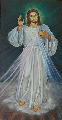 Painting - Divine Mercy by Patrick Dee Rankin