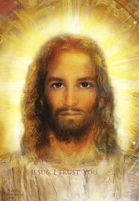 Divine Mercy, Sacred Heart Of Jesus 3 Art Print