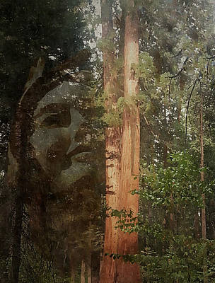 Photograph - Divine Mother Earth by Regina Arnold