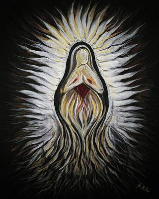 Painting - Divine Mother Milagro by Michelle Pier