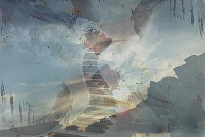 City Of Dubai Digital Art - 'divine Piano' by Vincent Messelier