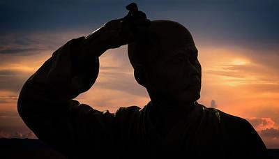 Shaolin Photograph -  Divine Power by Damian Morphou