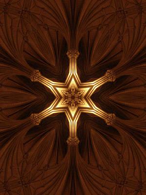 Portal Digital Art - Divine Precepts by Filip Klein