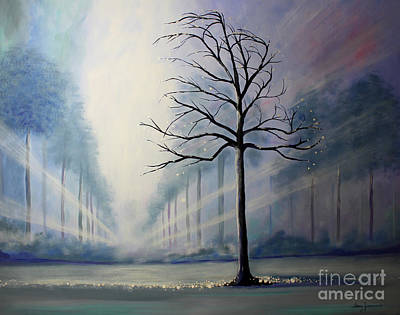 Painting - Divine Serenity by Stacey Zimmerman