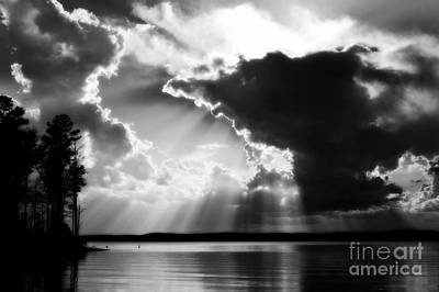 Photograph - Divinely Dramatic Sunset by Kelly Nowak