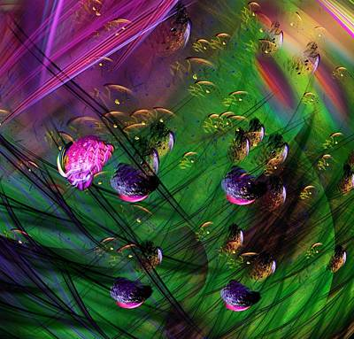 Digital Art - Diving The Reef Series - Hallucinations by David Lane