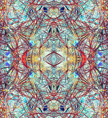 Divinity Of Now Art Print