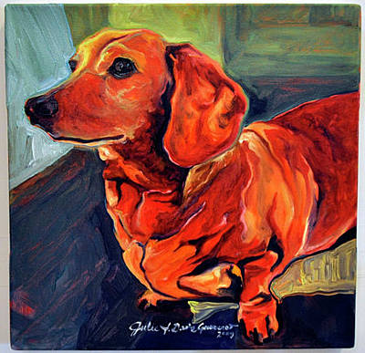 Painting - Dixie Doodle by Julie Davis Veach