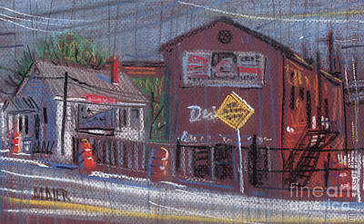 Church Street Drawing - Dixie Exterminators by Donald Maier