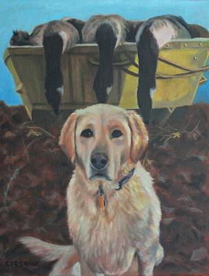 Painting - Dixie by Jill Ciccone Pike