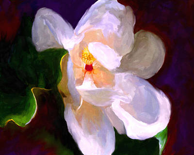 Painting - Dixie Lane Magnolia by Jai Johnson