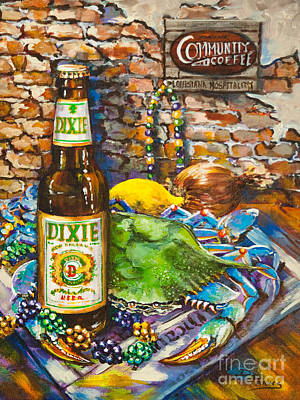 Dixie Beer Painting - Dixie Love by Dianne Parks