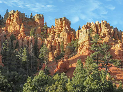Popstar And Musician Paintings - Dixie National Forest Hoodoos by Patti Deters