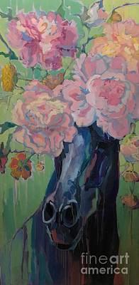 Dixie Rose Art Print by Kimberly Santini