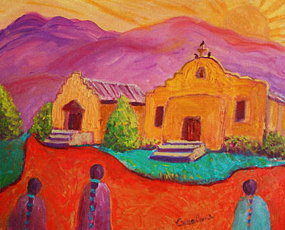 Painting - Dixon  New Mexico by Carolene Of Taos