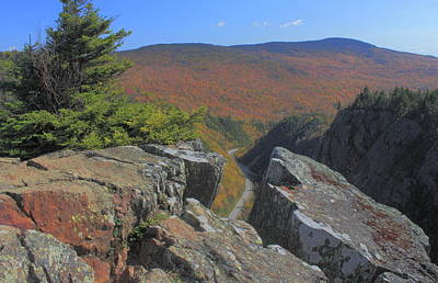 Photograph - Dixville Notch View From Table Rock by John Burk