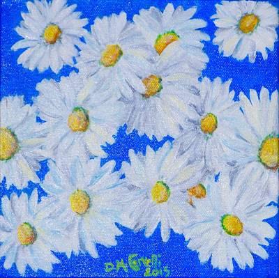 Dizzy Daisies Art Print