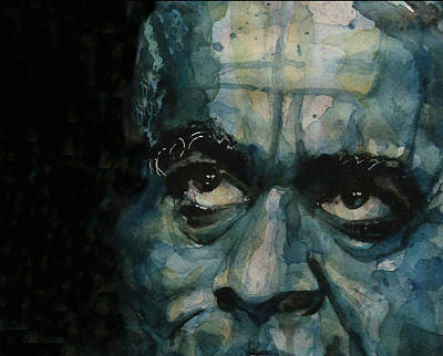 Jazz Legends Wall Art - Painting - Dizzy Gillespie by Paul Lovering