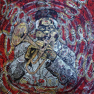 Painting - Dizzy by Leecasso aka Lee McCormick
