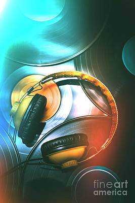Electronic Photograph - Dj Club Sound by Jorgo Photography - Wall Art Gallery