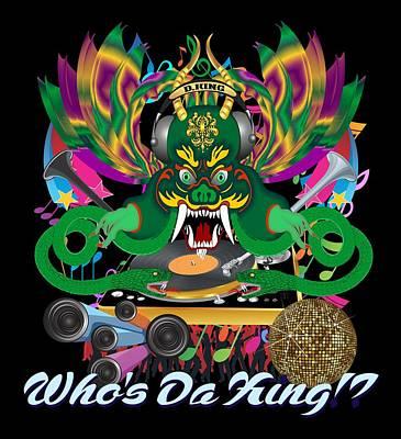 Congressman Digital Art - Dj Dragon4 King All Products by Bill Campitelle