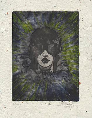 Drawing - Dj Ev1 by Erik Paul