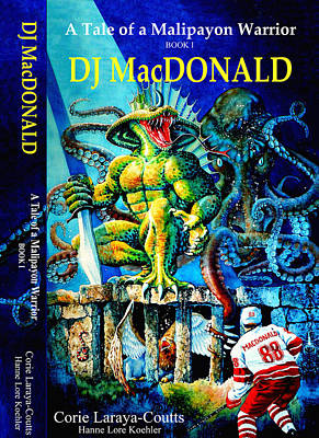 Dj Macdonald Book Cover Print by Hanne Lore Koehler