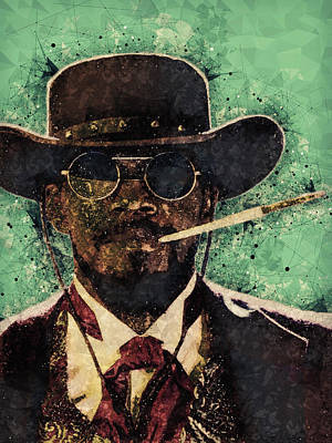 Mixed Media - Django Unchained  by Studio Grafiikka