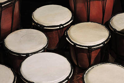 Photograph - Djembe by Grace Dillon