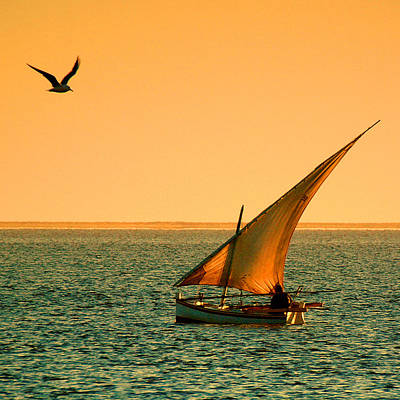 Dhow Photograph - Djerba Dawn by John McKinlay