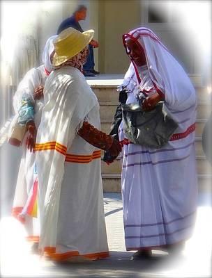 Exploramum Photograph - Djerba Ladies by Exploramum Exploramum