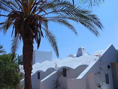 Exploramum Photograph - Djerba Roofline by Exploramum Exploramum