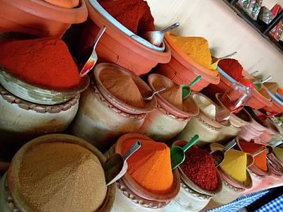 Exploramum Photograph - Djerba Spices by Exploramum Exploramum