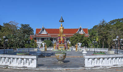 Photograph - Djittabhawan College Buddha Shrine Dthcb0159 by Gerry Gantt
