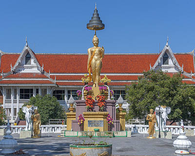 Photograph - Djittabhawan College Buddha Shrine Dthcb0161 by Gerry Gantt