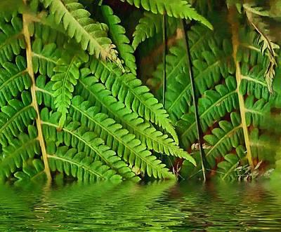 Swamp Mixed Media - Djungle by Pepita Selles