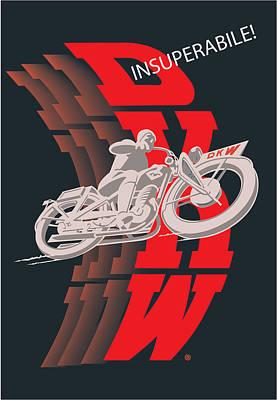 Digital Art - DKW by Gary Grayson