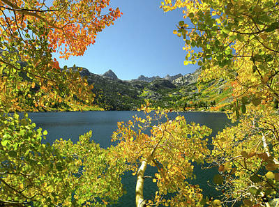 Photograph - Dm6486 Lake Sabrina In Autumn by Ed Cooper Photography