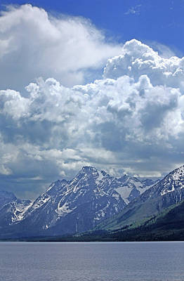 Photograph - Dm9233 Clouds Over Mt. Moran V by Ed Cooper Photography