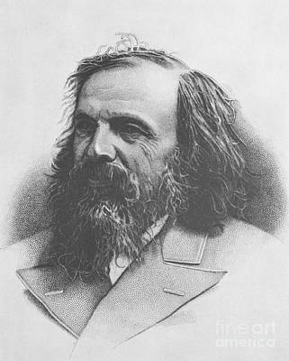 Periodic Table Of Elements Wall Art - Photograph - Dmitri Mendeleev, Russian Chemist by Science Source