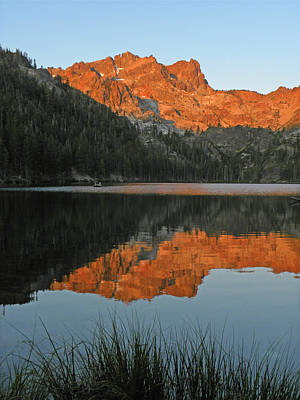 Photograph - Dn6237 Sunrise On Sierra Buttes Reflect by Ed Cooper Photography