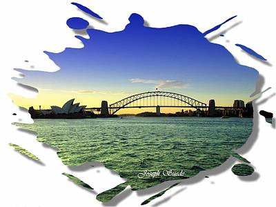 Photograph - Do-00020 Opera House And Harbour Bridge by Digital Oil